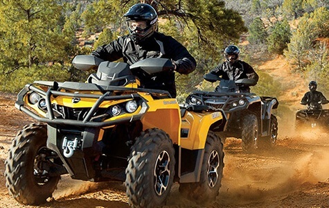 ATVs sold at Sherwood Groves Powersports in Towanda, PA.