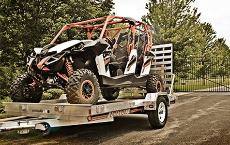 Trailers sold at Sherwood Groves Powersports in Towanda, PA.